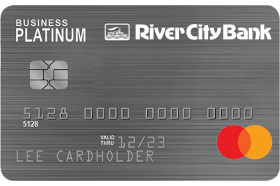 River City Bank Business Platinum Mastercard®