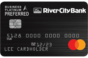 River City Bank Business Platinum Preferred Mastercard®