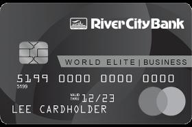 River City Bank Business World Elite Mastercard®