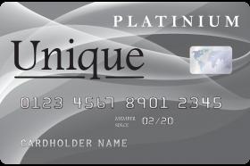 Unique Platinum Card
