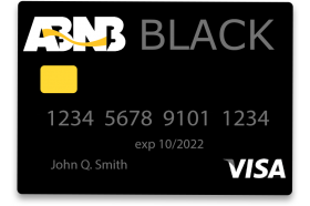 ABNB Federal Credit Union ABNB Black Card