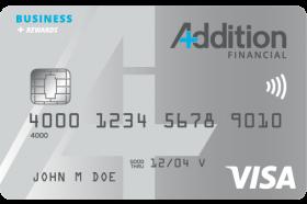 Addition Financial Credit Union Visa® Business Rewards Credit Card