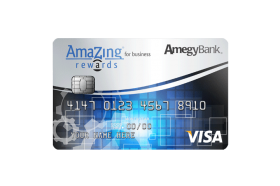 Amegy Bank AmaZing Rewards® for Business Visa Credit Card