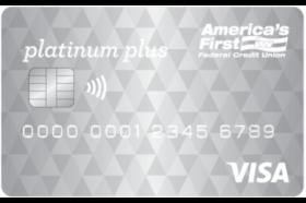 Americas First Federal Credit Union Platinum Plus Visa® Credit Card