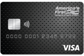 Americas First Federal Credit Union Platinum Visa Credit Card