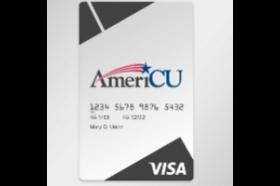 AmeriCU Credit Union Secured Visa® Credit Card