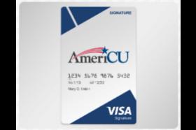 AmeriCU Credit Union Visa® Signature Rewards Credit Card