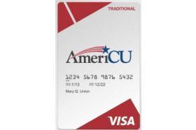 AmeriCU Credit Union Visa® Traditional Credit Card