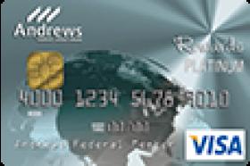 Andrews Federal Credit Union Platinum Rewards Secured Visa® Credit Card
