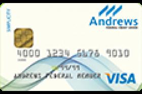 Andrews Federal Credit Union Simplicity Visa Credit Card