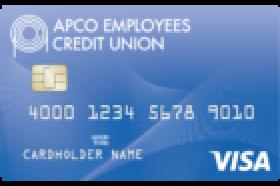 APCO Employees Credit Union Visa® Platinum Rewards Credit Card