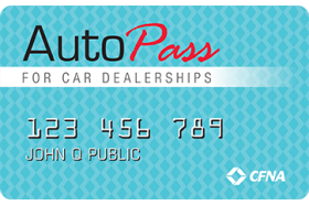 AutoPass for Car Dealerships Credit Card