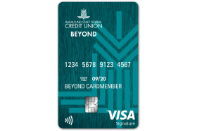 Bank Fund Staff Federal Credit Union Beyond Visa Signature Credit Card