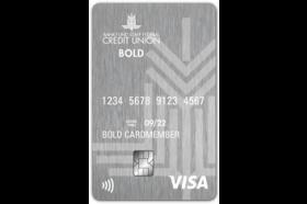 Bank Fund Staff Federal Credit Union Bold Visa Platinum