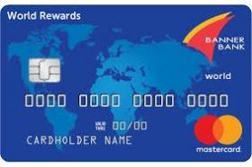 Banner Bank World Rewards Mastercard