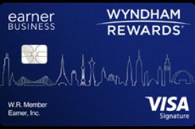 Barclays Bank Wyndham Rewards® EarnerSM Visa Signature Business Credit Card
