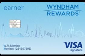 Barclays Bank Wyndham Rewards® EarnerSM Visa Signature Credit Card