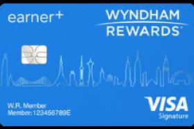 Barclays Bank Wyndham Rewards® EarnerSM Plus Visa Signature Credit Card