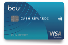 Baxter Credit Union Cash Rewards Visa Signature Credit Card