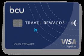 Baxter Credit Union Travel Rewards Visa Signature Credit Card