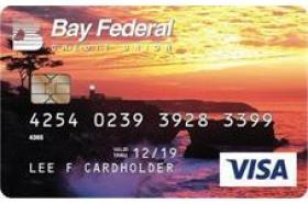 Bay Federal Credit Union Visa Gold Plus Credit Card