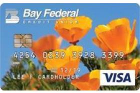 Bay Federal Credit Union Visa Gold Credit Card
