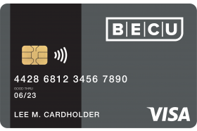 BECU Visa Credit Card