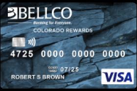 Bellco Credit Union Visa Colorado Rewards Credit Card