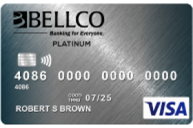 Bellco Credit Union Visa Platinum Credit Card