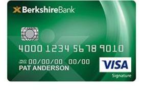 Berkshire Bank Visa Signature® College Real Rewards Credit Card