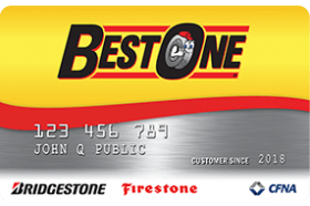 Best One Tire and Service Credit Card