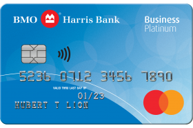 BMO Harris Bank Business Platinum Mastercard®