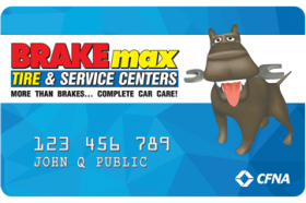 BRAKEmax Car Care Centers Credit Card