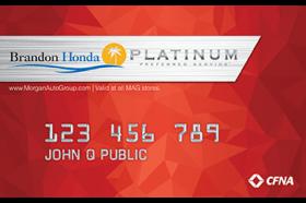 Brandon Honda Credit Card