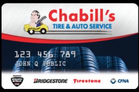 Chabill's Tire Credit Card