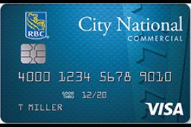 City National Bank Visa Commercial Credit Card