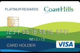 CoastHills Credit Union Platinum Rewards Visa Credit Card