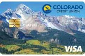Colorado Credit Union Classic Visa credit card