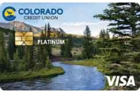 Colorado Credit Union Platinum Visa credit card