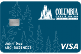 Columbia Credit Union Business Visa Platinum Credit Card
