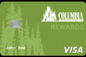 Columbia Credit Union Visa Platinum Rewards Credit Card