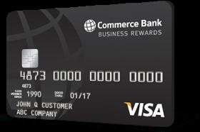 Commerce Bank Business Visa Rewards Credit Card
