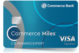 Commerce Bank Miles Rewards Visa Credit Card