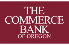 Commerce Bank of Oregon Visa Platinum Credit Card