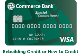 Commerce Bank Secured Visa Credit Card