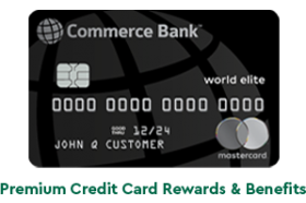 Commerce Bank World Elite Mastercard
