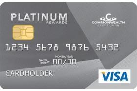 Commonwealth Credit Union Visa Platinum