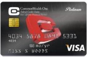 CommonWealth One FCU Visa Platinum Credit Card