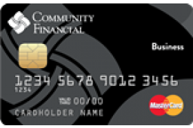Community Financial Credit Union of Michigan Business Mastercard