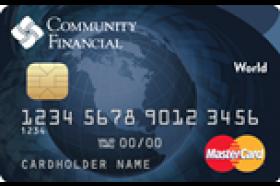 Community Financial Credit Union of Michigan World Mastercard Credit Card